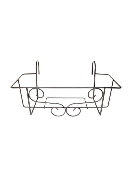 Uchwyt balkonowy na skrzynkę Marco, Metal, Czarny, S 42 x W 18 cm