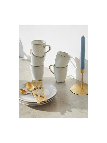 Handgemaakte mokken Nordic Sand in verschillende formaten van keramiek , 6 stuks, Keramiek, Zandkleurig, Ø 8 x H 10 cm