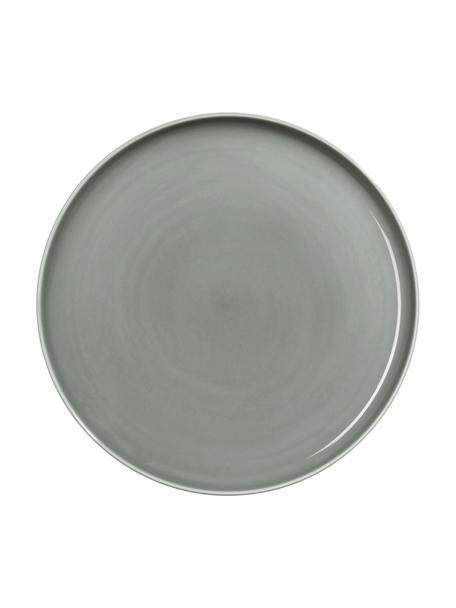 Talerz duży z porcelany Kolibri, 6 szt., Porcelana, Szary, Ø 27 cm