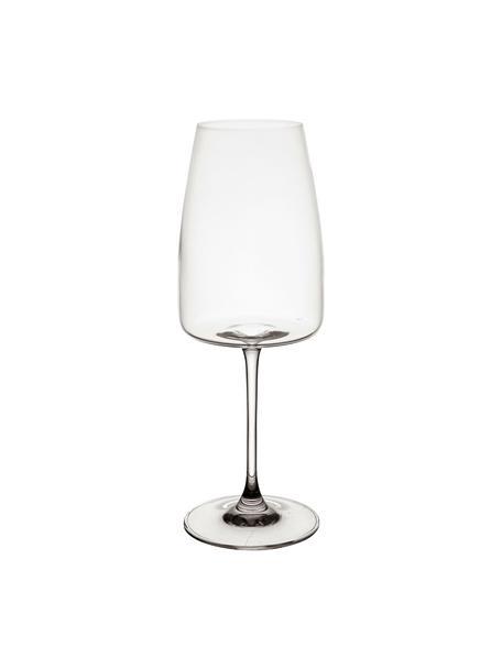 Bicchiere vino in cristallo Moinet 6 pz, Cristallo, Trasparente, Ø 8 x Alt. 22 cm