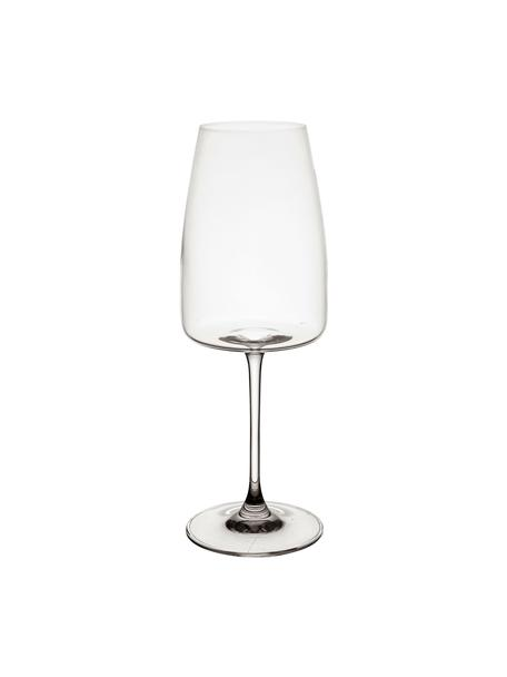 Kieliszek do wina ze szkła kryształowego Moinet, 6 szt., Szkło kryształowe, Transparentny, Ø 8 x W 22 cm