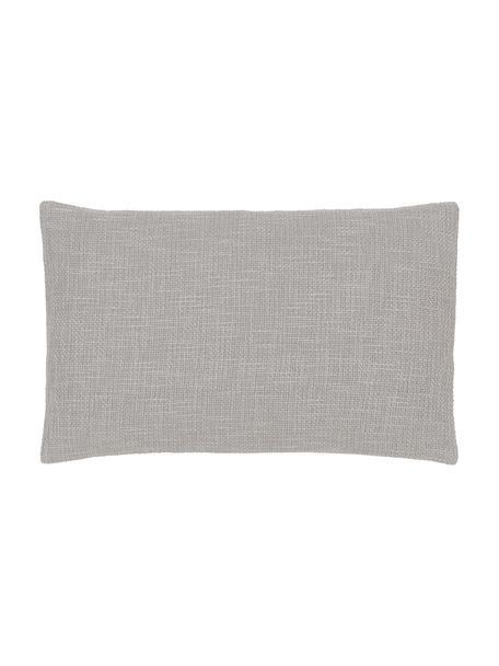 Federa arredo color grigio Anise, 100% cotone, Grigio, Larg. 30 x Lung. 50 cm