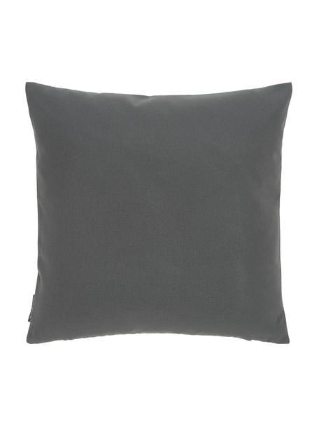 Federa arredo da esterno color antracite Blopp, Dralon (100% poliacrilico), Antracite, Larg. 45 x Lung. 45 cm