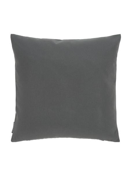 Federa arredo da interno-esterno Blopp, Dralon (100% acrilico), Antracite, Larg. 45 x Lung. 45 cm