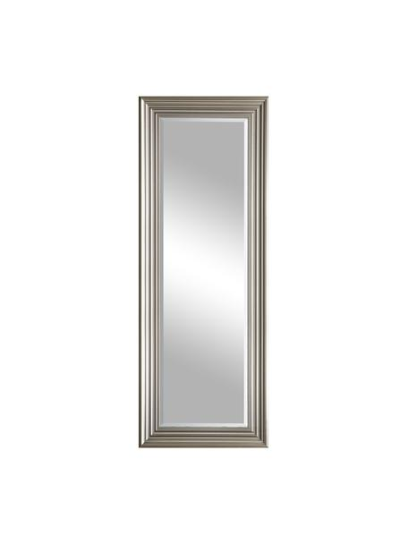 Espejo de pared Haylen, Espejo: cristal, Platino, An 48 x Al 132 cm