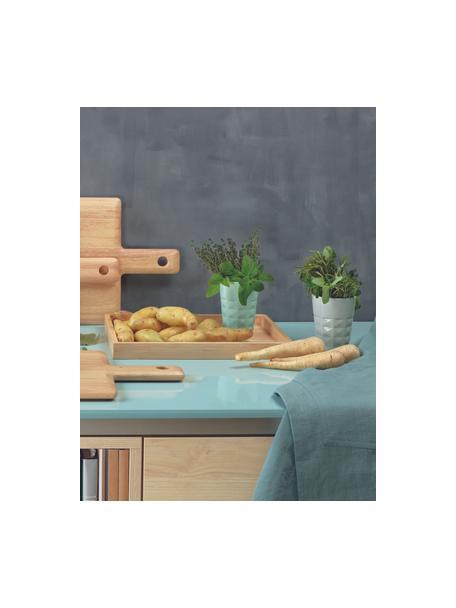 Vassoio da portata in legno Wood Light, Legno, Beige, Lung. 33 x Larg. 25 cm