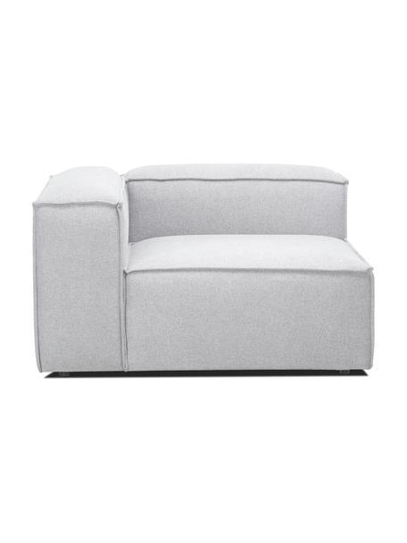 Módulo de esquina sofá Lennon, Tapizado: 100%poliéster Alta resis, Estructura: madera de pino maciza, ma, Patas: plástico Las patas están , Tejido gris claro, An 119 x F 119 cm