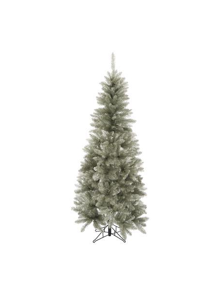 Decoratieve kerstboom Colchester in zilverkleur, Kunststof (PVC), Platinakleurigkleurig, Ø 84 x H 185 cm