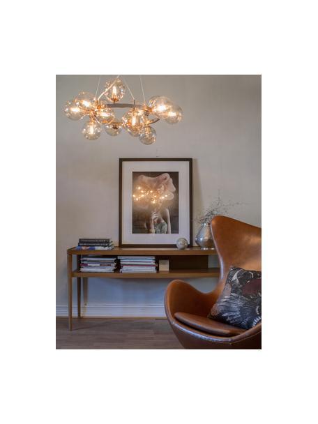 Lámpara de techo de esferas Splendor, Estructura: metal recubierto, Anclaje: metal recubierto, Cable: plástico, Cobre, Ø 58 x Al 22 cm