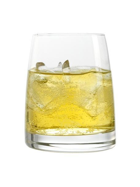 Szklanka ze szkła kryształowego Experience, 6 szt., Szkło kryształowe, Transparentny, Ø 8 x W 9 cm