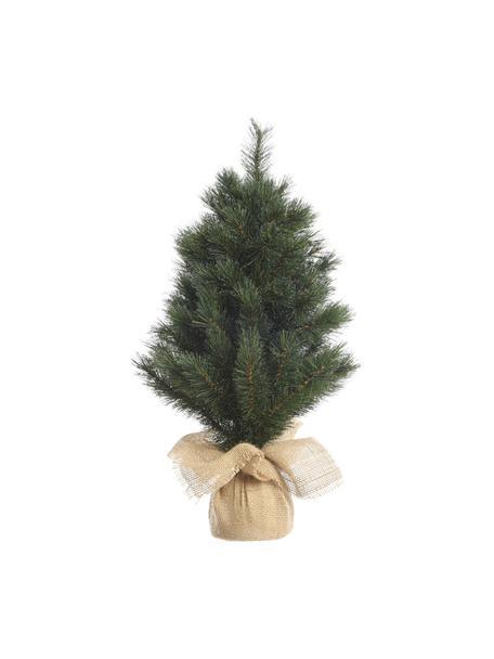 Albero di Natale artificiale Malmo, Coperchio: juta, Verde, Ø 30 x Alt. 45 cm