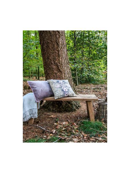 Banco de madera maciza de teca reciclada Decorative, Madera de teca natural, Teca, An 120 x Al 45 cm
