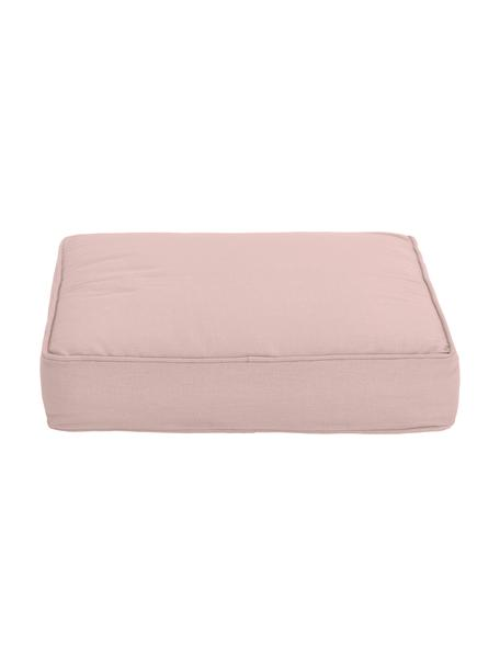 Cuscino sedia rosa cipria Zoey, Rivestimento: 100% cotone, Rosa, Larg. 40 x Lung. 40 cm