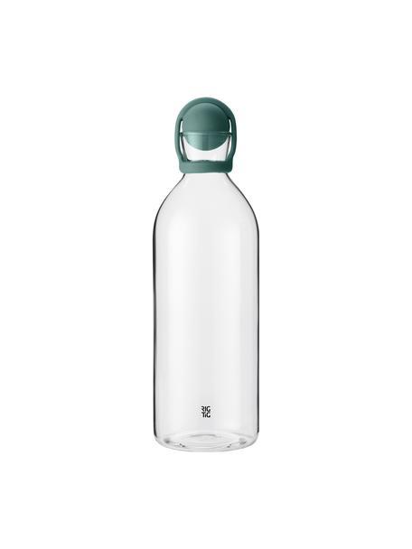 Botella con tapón Cool-It, 1,5L, Botella: vidrio, Turquesa transparente, Al 31 cm