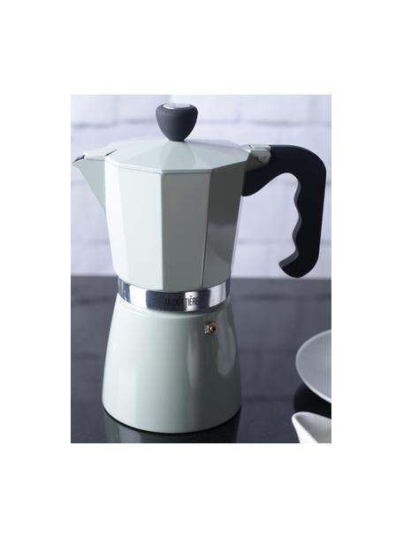 Cafetera Classic, Aluminio, Menta, negro, aluminio, 300 ml