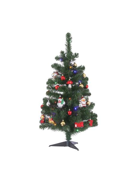 Decoratieve LED kerstboom Gently, Kunststof, Multicolour, Ø 50 cm