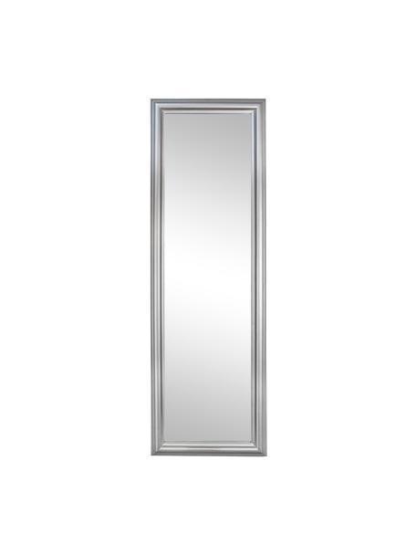 Wandspiegel Sanzio, Lijst: gecoat hout, Zilverkleurig, 42 x 132 cm