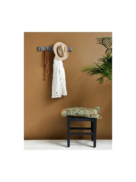 Perchero de pared Aoife, Barra: tablero de fibras de dens, Gris, An 60 x Al 7 cm