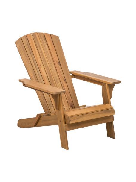 Garten-Loungestuhl Charlie aus Akazienholz, Massives Akazienholz, geölt, Braun, B 93 x T 74 cm