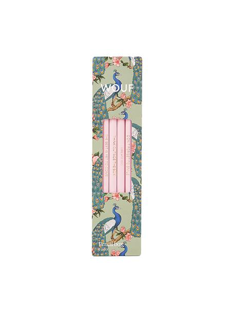 Komplet ołówków Royal Forest, 6 elem., Drewno naturalne, Wielobarwny, S 18 x W 5 cm