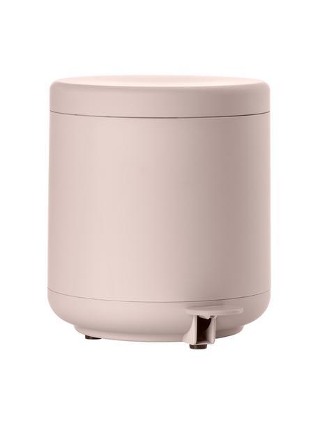 Afvalemmer Ume met pedaal functie, Kunststof (ABS), Roze, mat, Ø 20 x H 22 cm