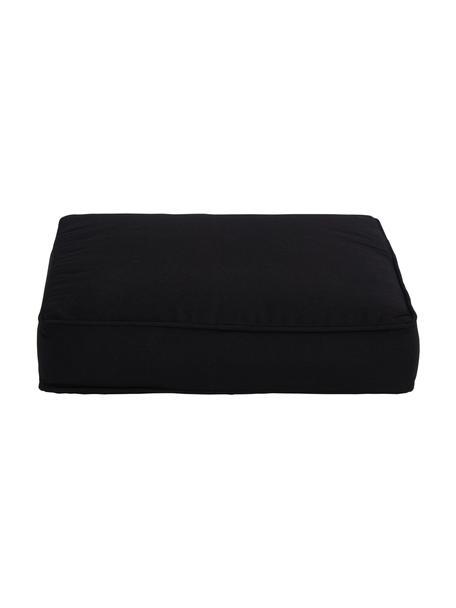 Wysoka poduszka na krzesło Zoey, Czarny, S 40 x D 40 cm