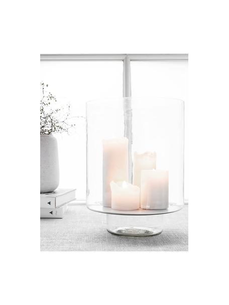 Portacandela in vetro Classic, Vetro, Trasparente, Ø 26 x Alt. 34 cm