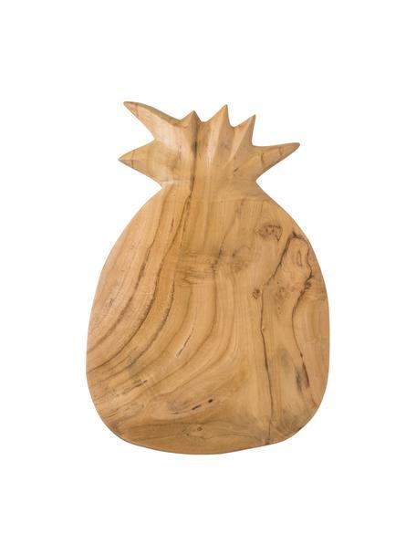 Schneidebrett Pine aus Teakholz, L 35 x B 23 cm, Teakholz, Teakholz, 23 x 35 cm