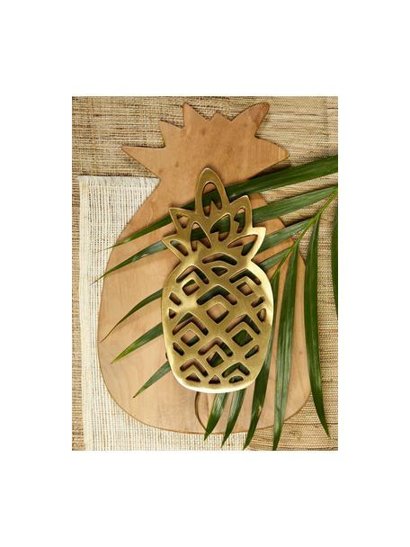 Snijplank Pine van teakhout, L 35 x B 23 cm, Teakhout, Teakhoutkleurig, 23 x 35 cm