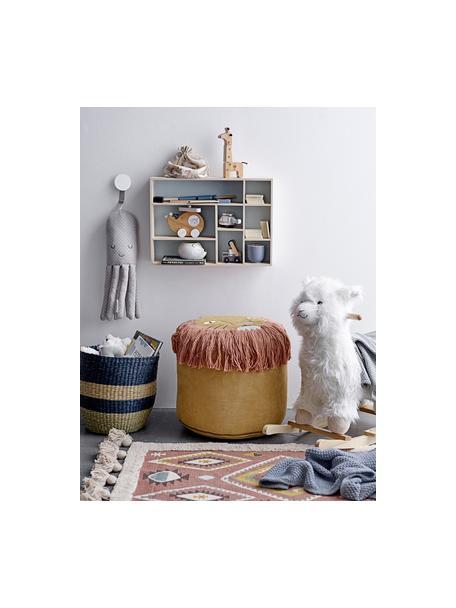 Teppich Boho, 100% Baumwolle, Mehrfarbig, B 70 x L 120 cm (Grösse XS)