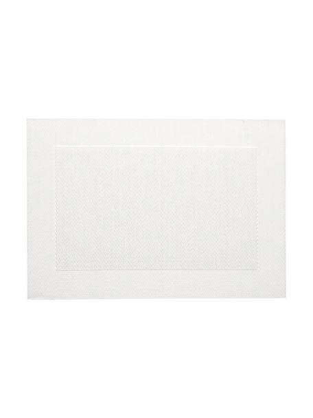 Kunststoffen placemats Trefl, 2 stuks, Kunststof, Parelmoer, 33 x 46 cm