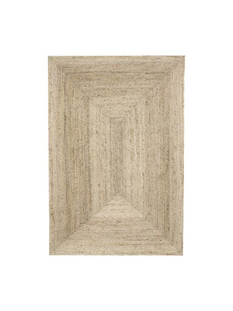 Handgefertigter Jute-Teppich Sharmila, 100% Jute, Beige, B 120 x L 180 cm (Größe S)