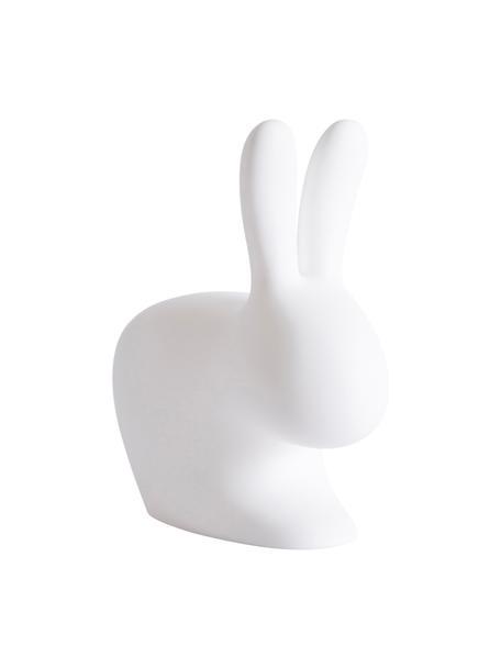 Lampada da tavolo portatile e dimmerabile Rabbit, Lampada: materiale sintetico (poli, Bianco, Larg. 20 x Alt. 22 cm