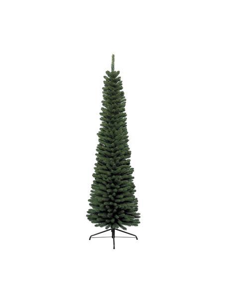 Decoratieve kerstboom Pencil, Groen, Ø 45 x H 150 cm