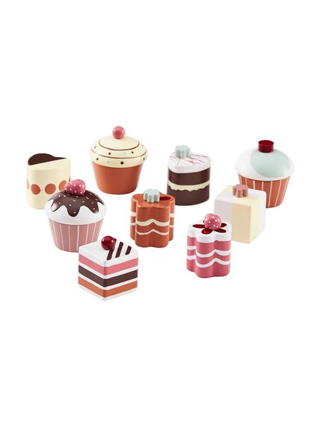 Spielzeug-Set Sweets, Schimaholz, lackiert, Mehrfarbig, Ø 5 x H 5 cm