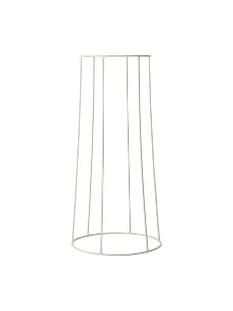 Pflanztopfständer Wire Base, Stahl, pulverbeschichtet, Weiß, Ø 23 x H 60 cm