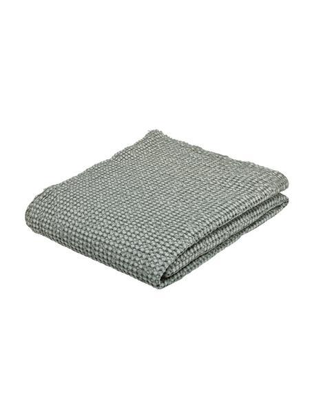 Bedsprei Vigo met gestructureerde oppervlak, Katoen, Flessengroen, B 220 x L 240 cm (voor bedden van 160 x 200)