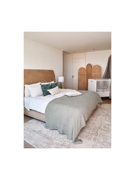 Narzuta Vigo, 100% bawełna, Butelkowy zielony, 220 x 240 cm (do łóżek od 160 x 200)