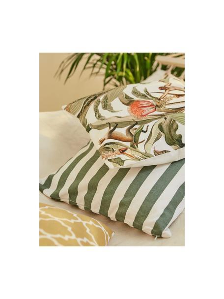 Poszewka na poduszkę Tiomn, 100% bawełna, Zielony, S 40 x D 40 cm