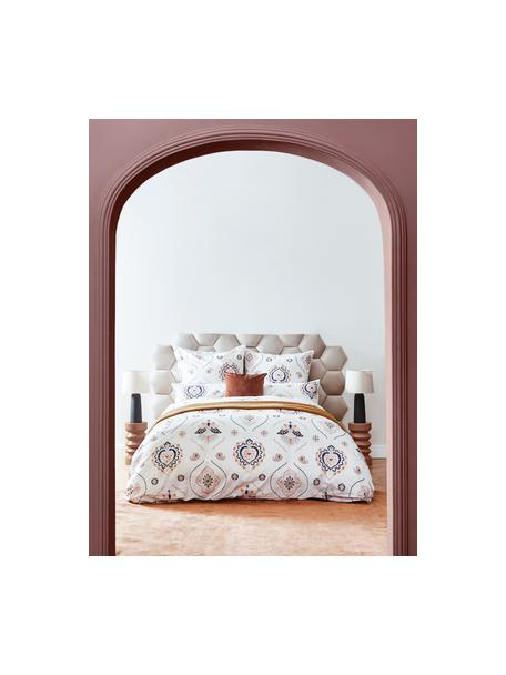 Pościel z perkalu Pippa, Wielobarwny, 135 x 200 cm + 1 poduszka 80 x 80 cm