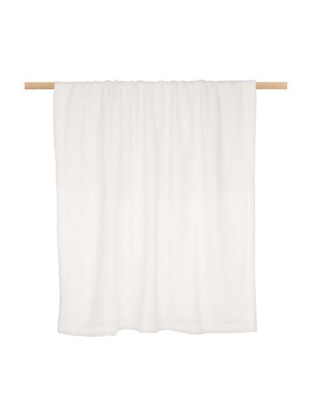 Manta de borreguillo Mille, Parte superior: 100%poliéster (borreguil, Parte trasera: 100%poliéster, Crema, An 150 x L 200 cm