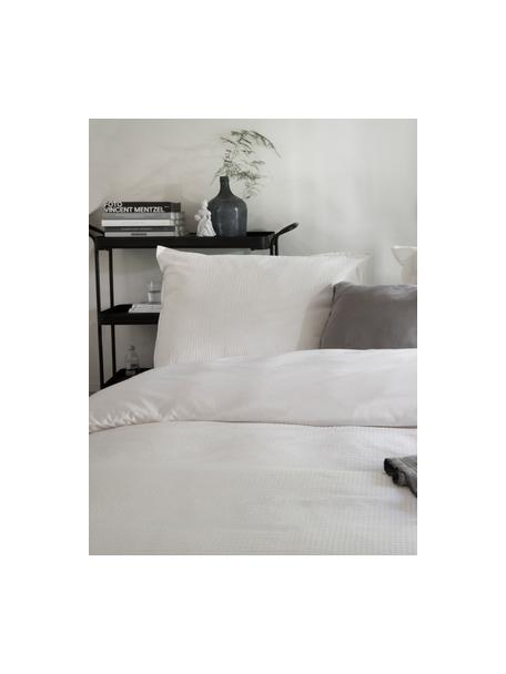 Pościel z kory Basic & Tough, Biały, 135 x 200 cm + 1 poduszka 80 x 80 cm