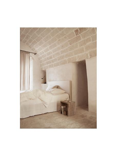 Mesa auxiliar de diseño Travertin, estilo minimalista, Travertin, Beige, An 35 x F 35 cm
