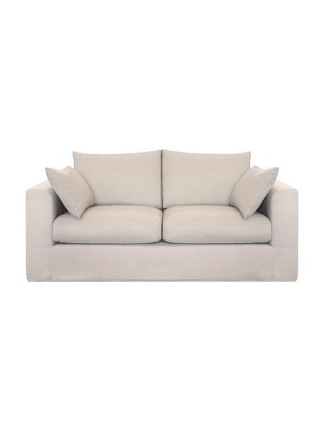 Sofa Zach (2-Sitzer) in Beige, Bezug: Polypropylen Der hochwert, Webstoff Beige, B 191 x T 90 cm