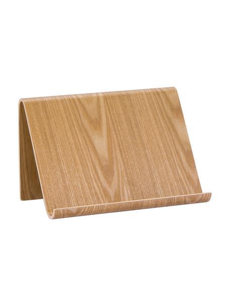Tabletthalter Willo, Weidenholz, Braun, 26 x 17 cm
