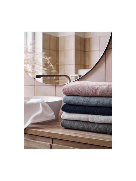Eenkleurige handdoekenset Comfort, 3-delig, Lichtblauw, Set met verschillende formaten