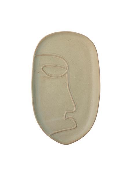 Taca dekoracyjna Ngan, Kamionka, Zielony, S 30 x W 3 cm