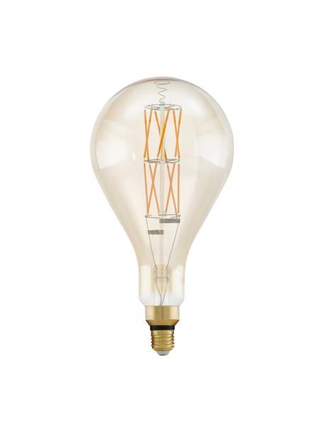 Żarówka LED XL E27/806 lm, ciepła biel, 1 szt., Transparentny, odcienie bursztynowego, Ø 16 x W 30 cm