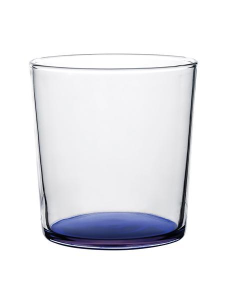 Vaso Basis, Vidrio, Azul, Ø 9 x Al 9 cm