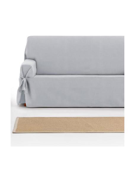 Pokrowiec na sofę Levante, 65% bawełna, 35% poliester, Szary, S 160 x G 110 cm